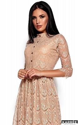 Платье Шанти, Бежевый