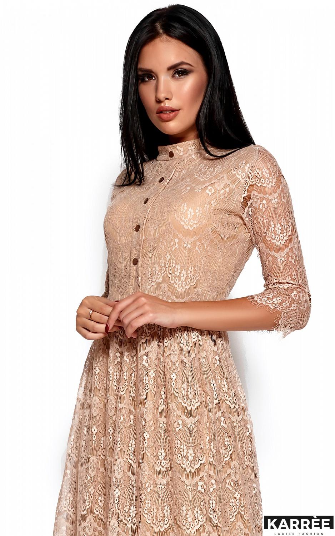 Платье Шанти, Бежевый - фото 2