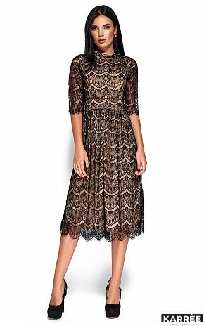 Платье Шанти, Черный - фото 1