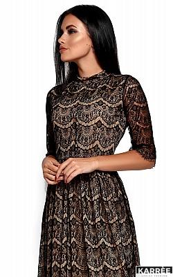 Платье Шанти, Черный