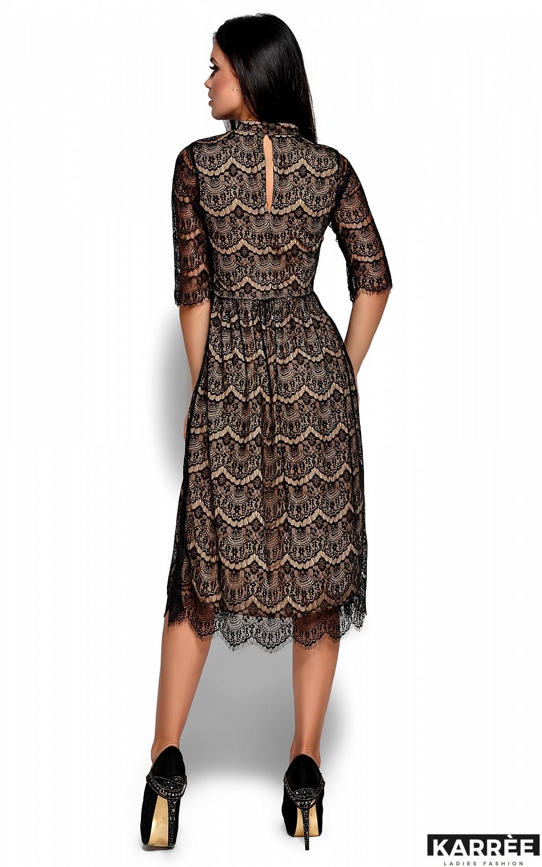 Платье Шанти, Черный - фото 3