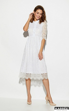 Платье Шанти, Белый - фото 1