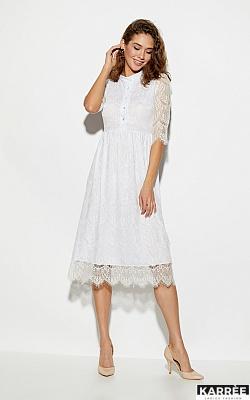 898e50ecf26 Купить белое женское платье в интернет магазине Karree