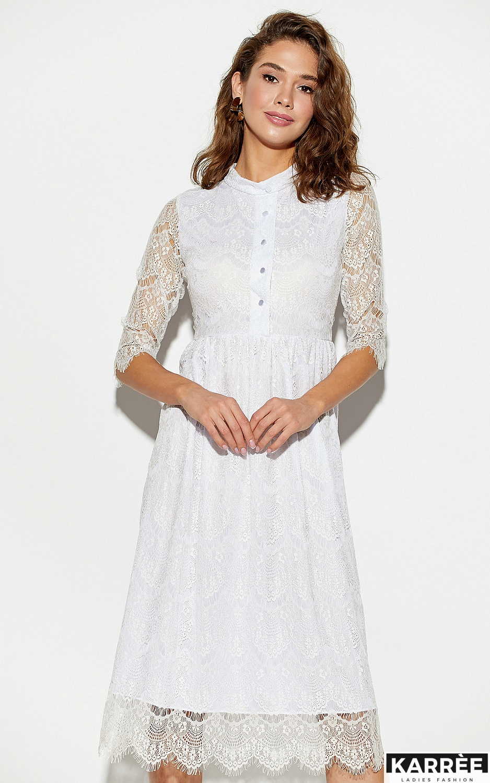 Платье Шанти, Белый - фото 2