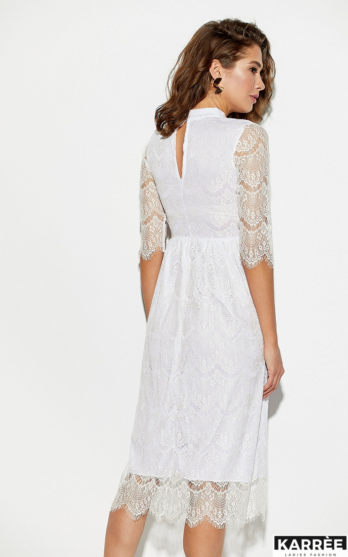 Платье Шанти, Белый - фото 3
