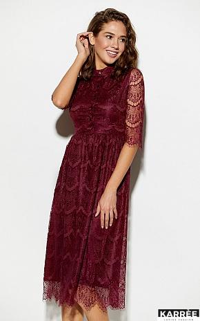 Платье Шанти, Бургунди - фото 1