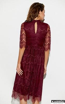 Платье Шанти, Бургунди