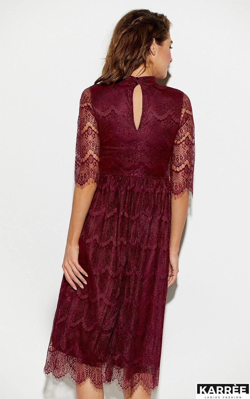 Платье Шанти, Бургунди - фото 2