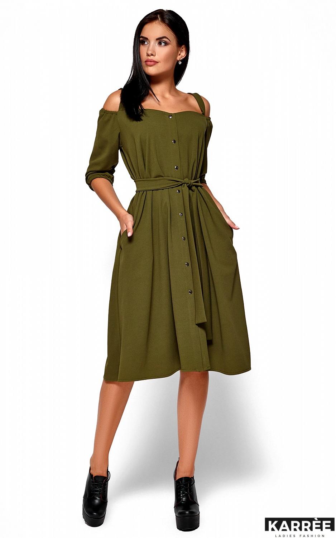 Платье Летиция, Хаки - фото 1