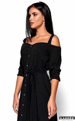 Платье Летиция, Черный - фото 2