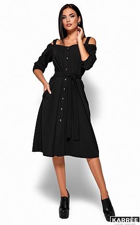 Платье Летиция, Черный - фото 3