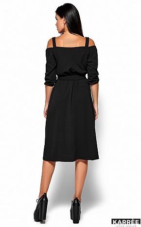 Платье Летиция, Черный - фото 4