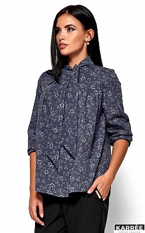 Рубашка Флавия, Синий - фото 2
