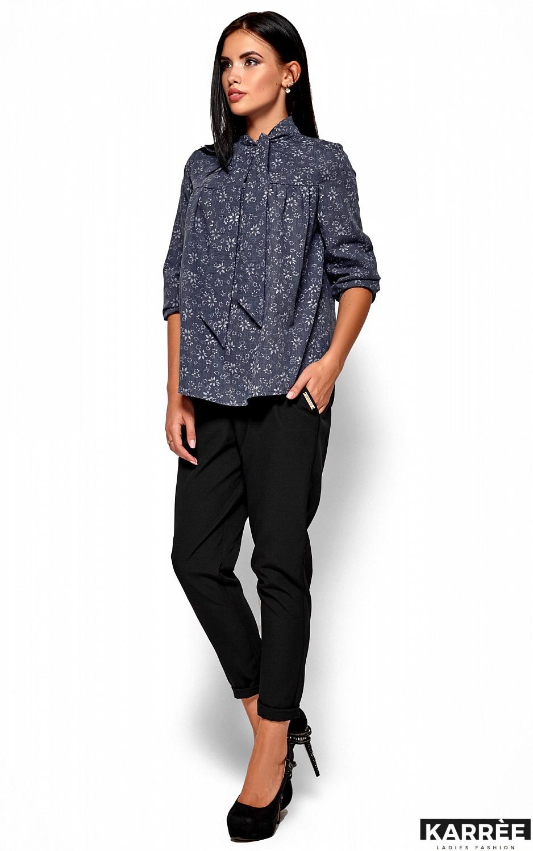 Рубашка Флавия, Синий - фото 4
