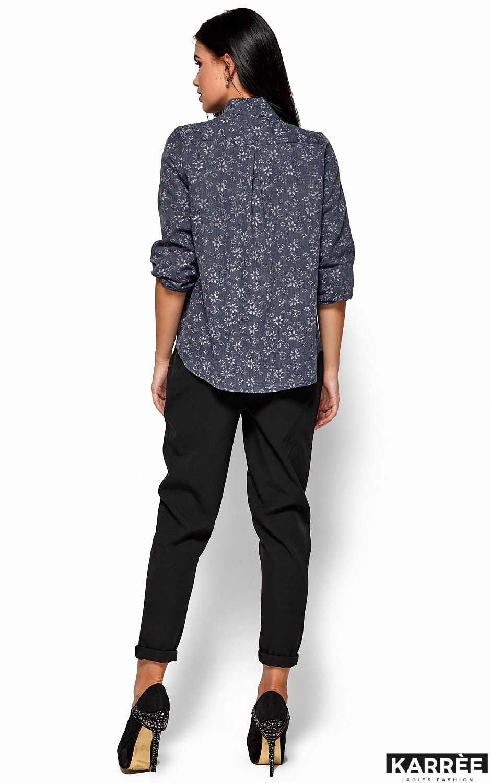 Рубашка Флавия, Синий - фото 3