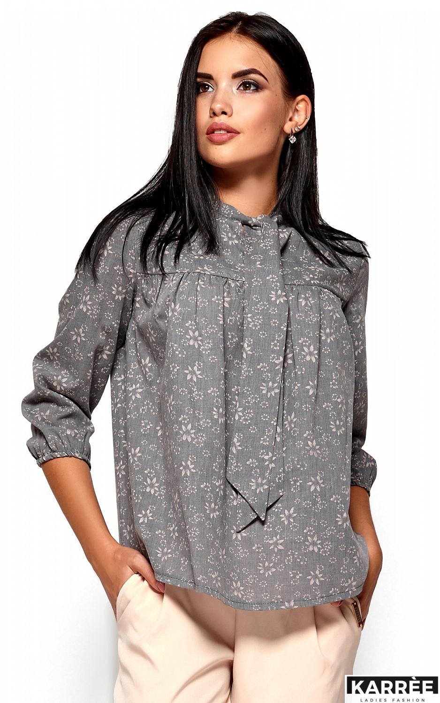 Рубашка Флавия, Серый - фото 2