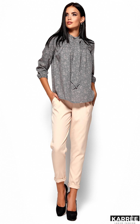 Рубашка Флавия, Серый - фото 5