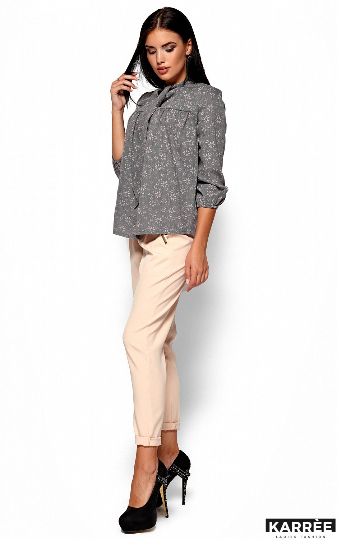 Рубашка Флавия, Серый - фото 3