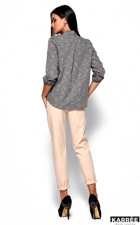 Рубашка Флавия, Серый - фото 4