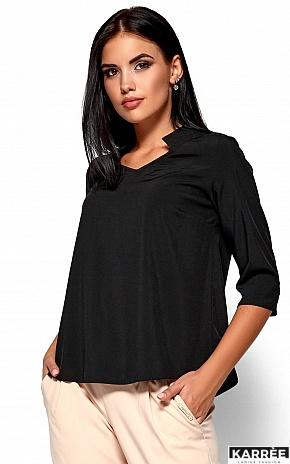 Блуза Малибу, Черный - фото 2