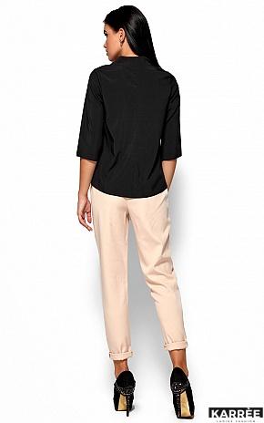 Блуза Малибу, Черный - фото 3