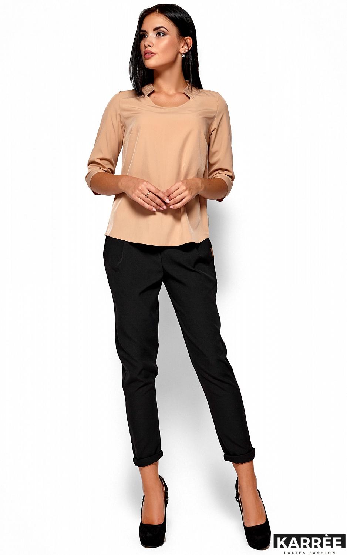 Блуза Малибу, Бежевый - фото 1