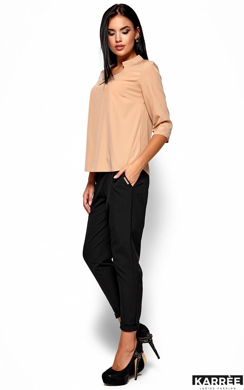 Блуза Малибу, Бежевый - фото 4
