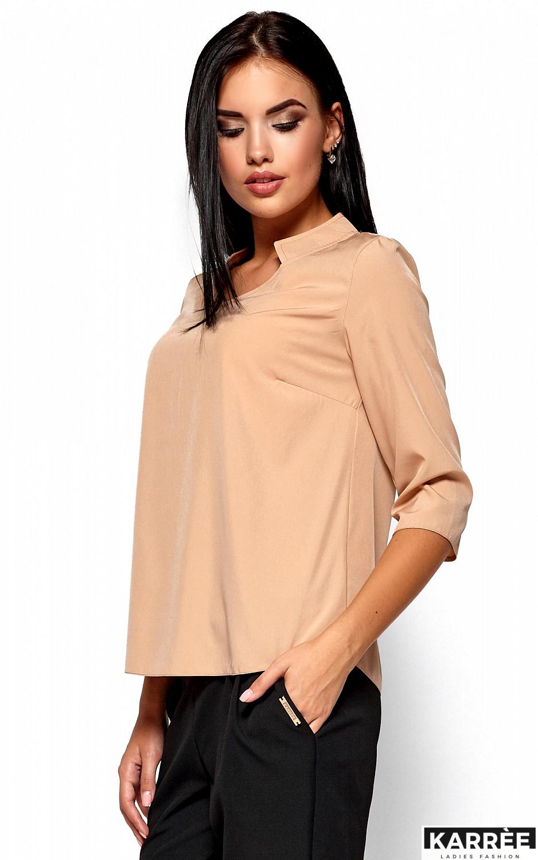 Блуза Малибу, Бежевый - фото 2