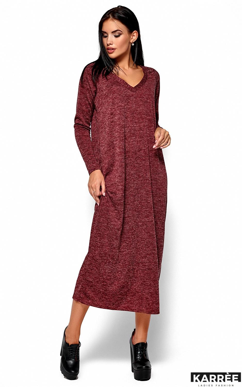 Платье Дороти, Бордо - фото 4
