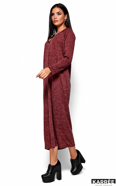 Платье Дороти, Бордо - фото 1