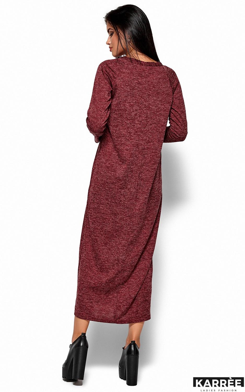 Платье Дороти, Бордо - фото 3