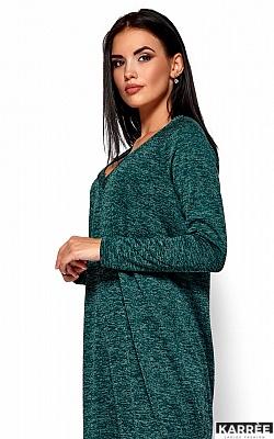Платье Дороти, Темно-зеленый