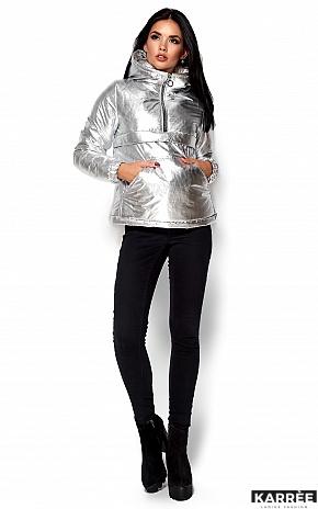 Куртка Мишель, Серебро - фото 1