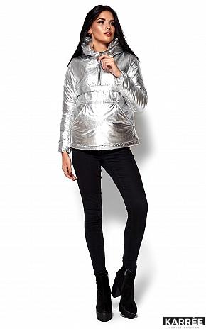 Куртка Мишель, Серебро - фото 5