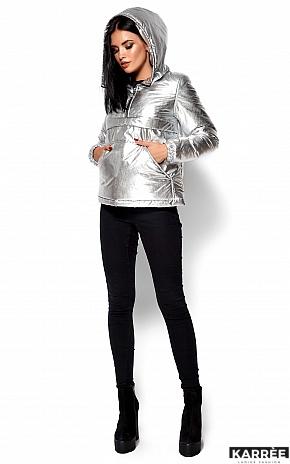 Куртка Мишель, Серебро - фото 3