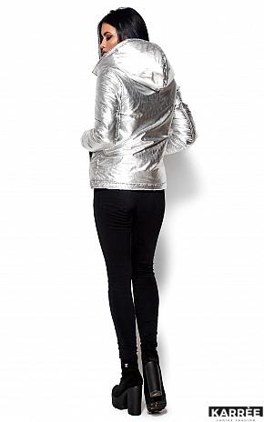 Куртка Мишель, Серебро - фото 4