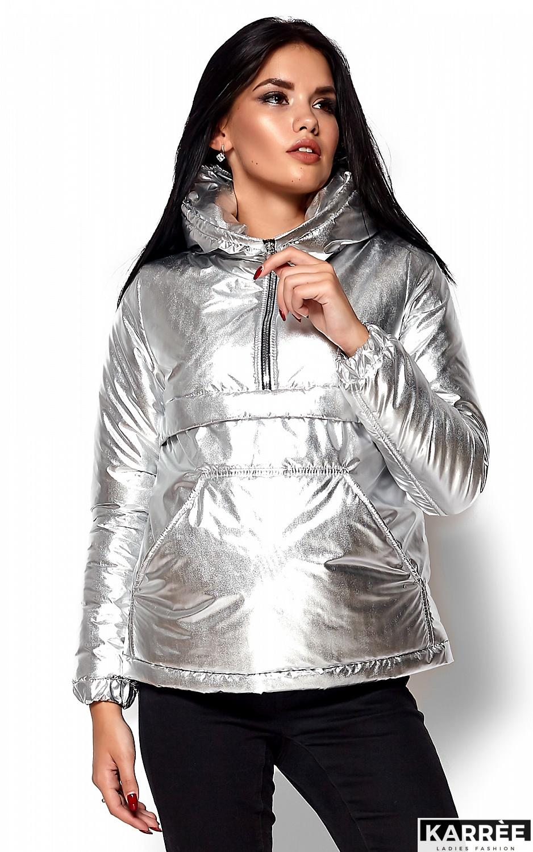 Куртка Мишель, Серебро - фото 2