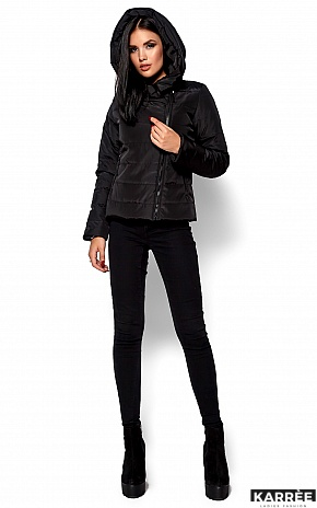 Куртка Адриана, Черный - фото 4