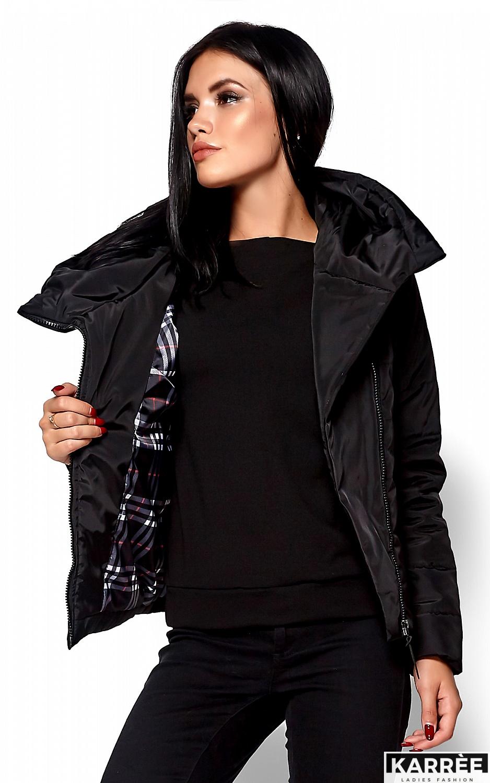 Куртка Адриана, Черный - фото 2