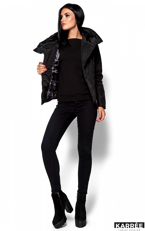 Куртка Адриана, Черный - фото 5