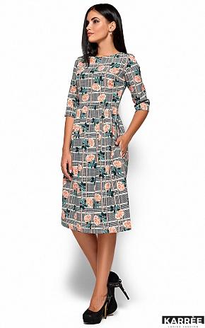 Платье Эмилия, Черный - фото 4