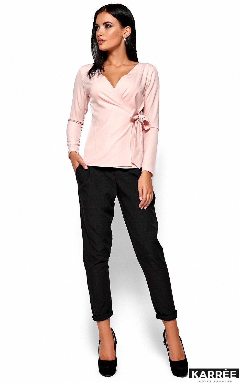 Блуза Сабрина, Персик - фото 1