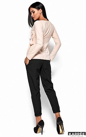 Блуза Сабрина, Кремовый - фото 3