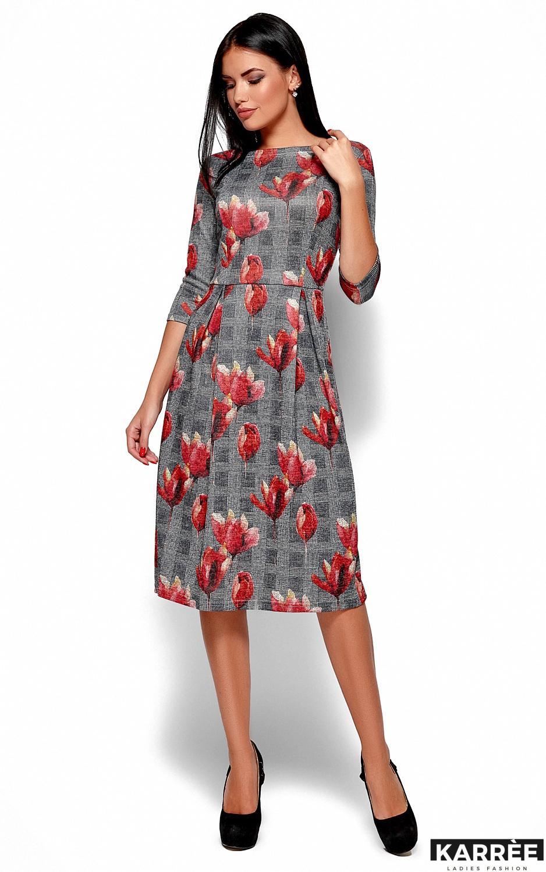 Платье Амелла, Коралл - фото 1