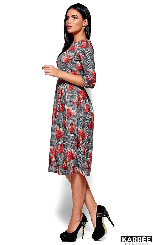 Платье Амелла, Коралл - фото 4