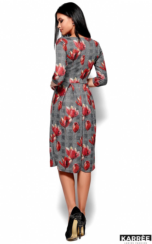 Платье Амелла, Коралл - фото 3
