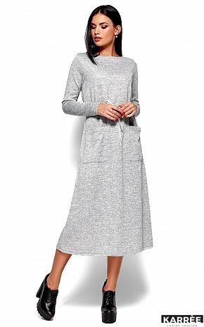 Платье Николетта, Серый - фото 1