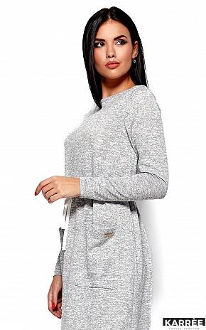 Платье Николетта, Серый - фото 2