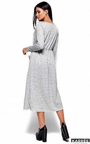 Платье Николетта, Серый - фото 4