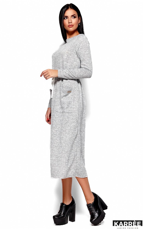 Платье Николетта, Серый - фото 5